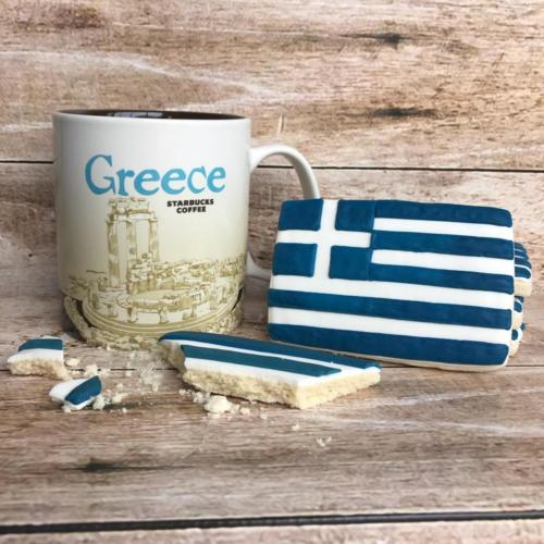 Greek sugar cookie